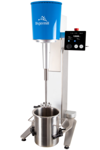 Button for more information laboratory dispersers