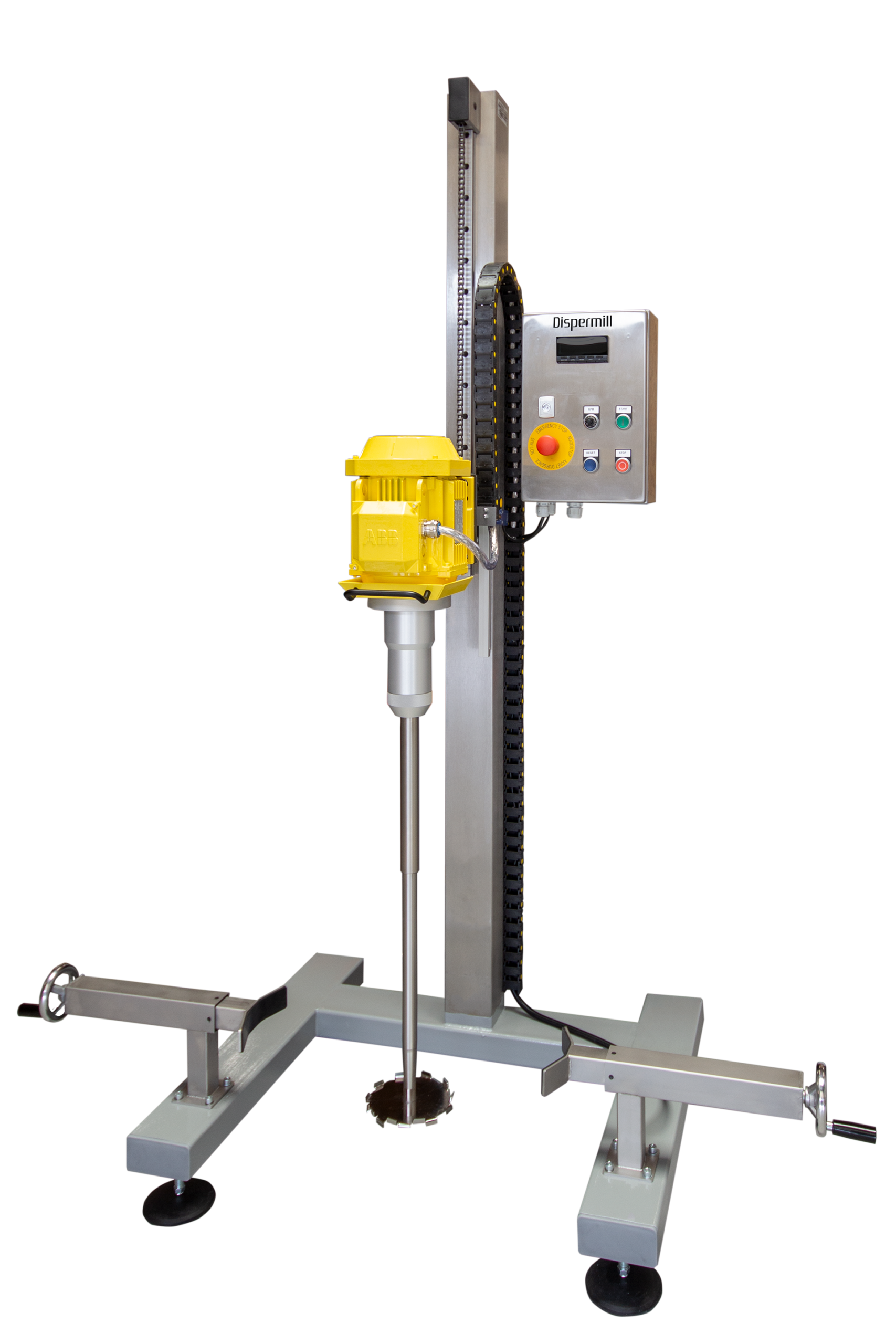 Button for more information pilot plant dispersers