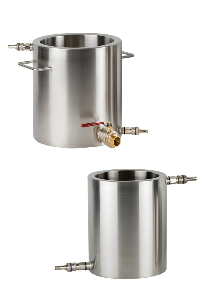 Button for more information jacketed vessels